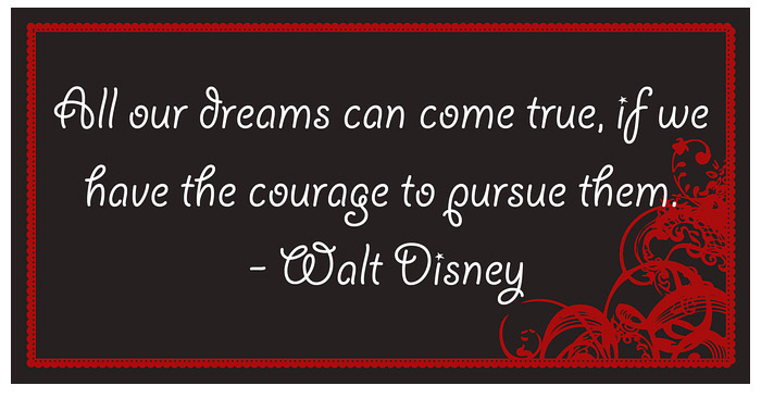Walt Disney Quote Dreams