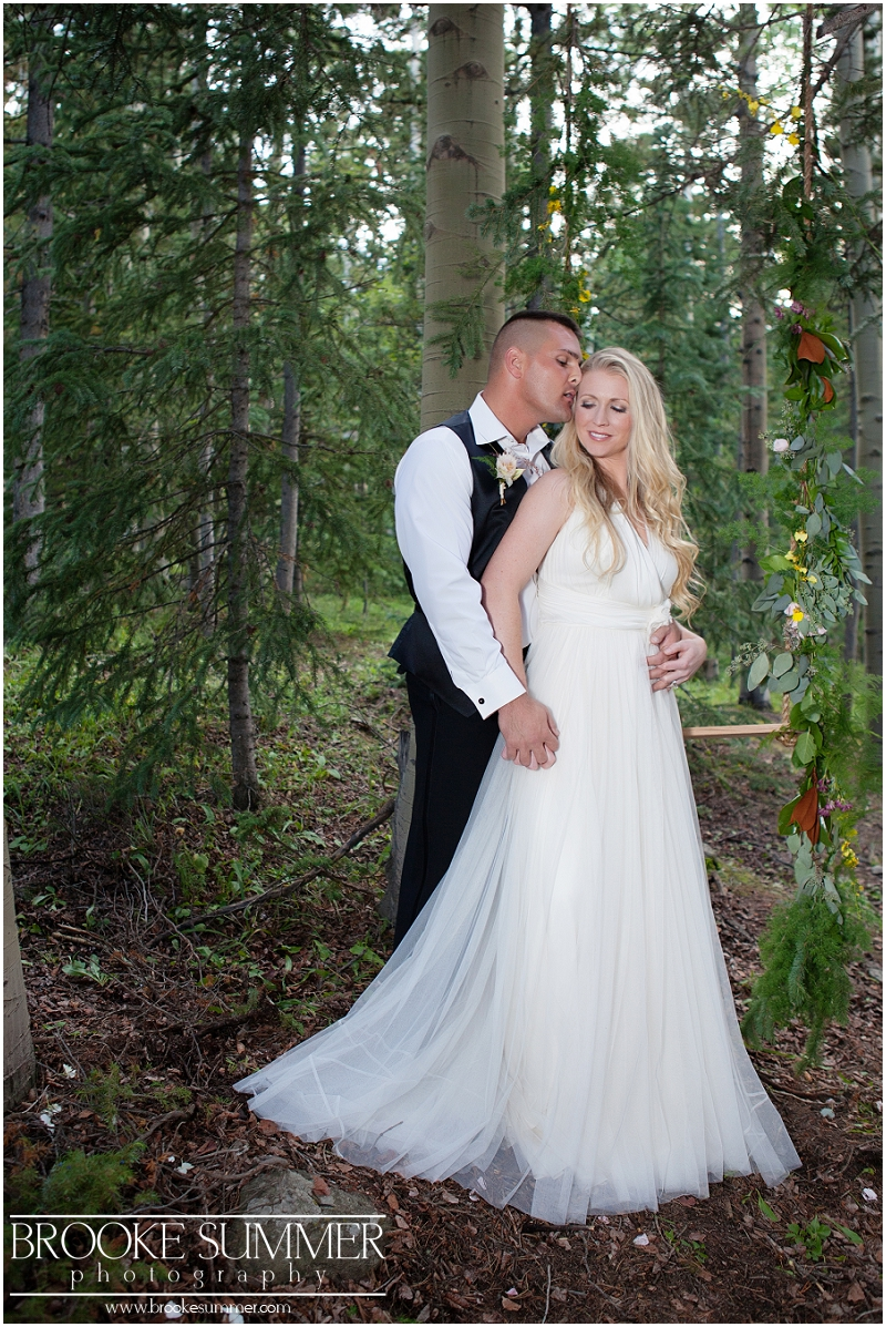 colorado-wedding-photography, colorado-intimate-wedding, forest-wedding, forest-intimate wedding, denver-wedding-photography, wedding-swing