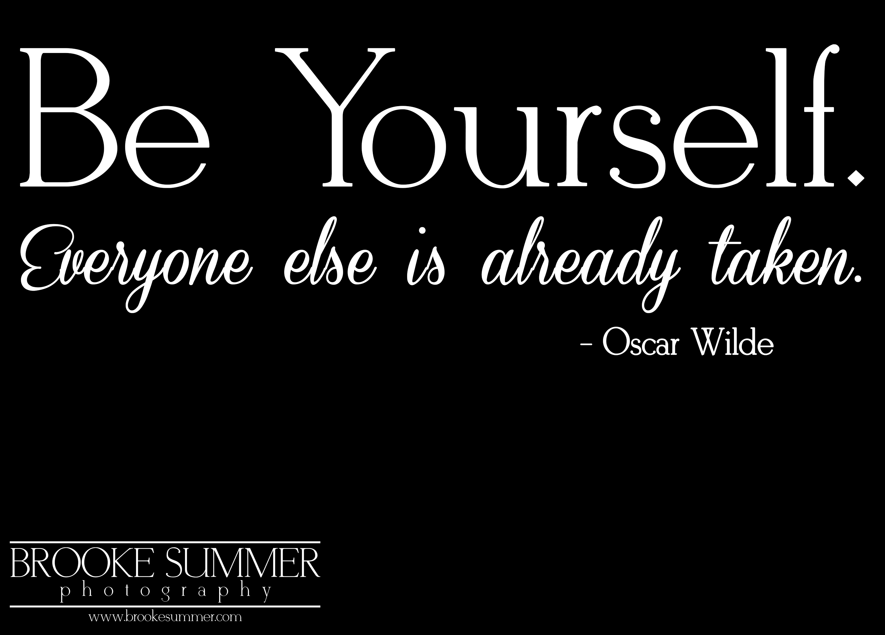 be-yourself-quote, denver-boudoir, boudoir-photography-denver