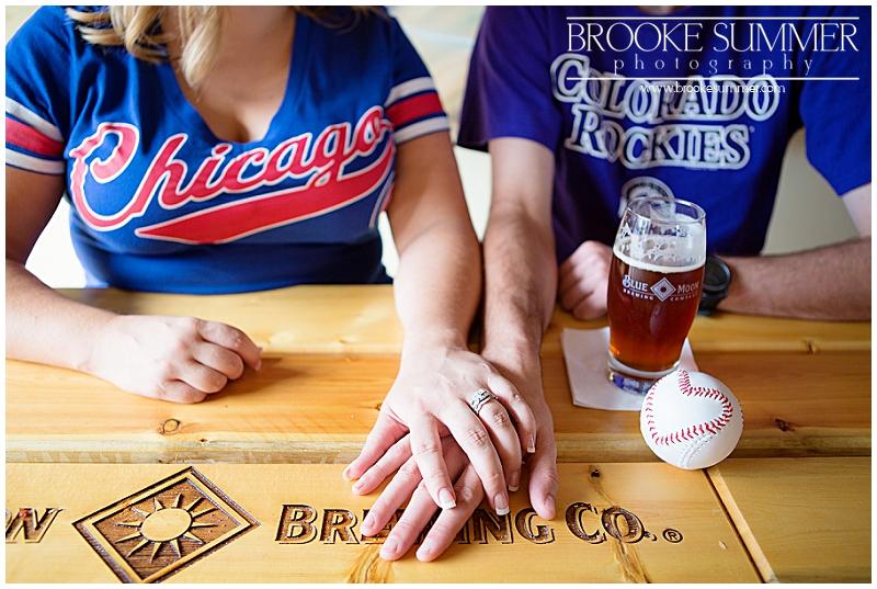 colorado-engagement-photographer, denver-engagement-photos, colorado-engagement-photos, baseball-engagement-photos, coors-field-engagement-photos