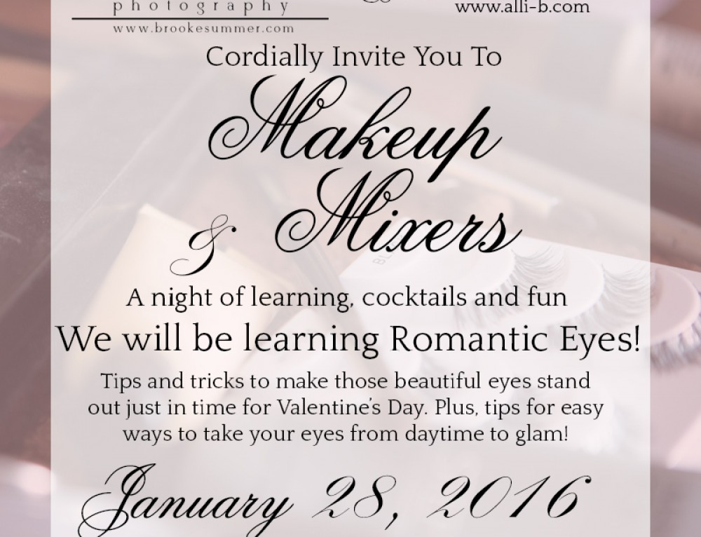 Denver Boudoir Studio – Makeup & Mixers – Romantic Eyes!