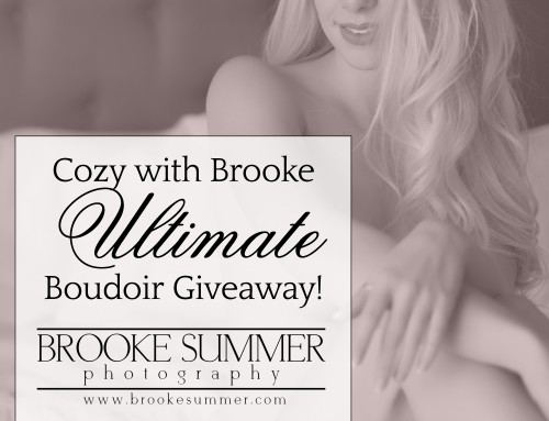 Colorado Boudoir Photography – A Very Special Giveaway!