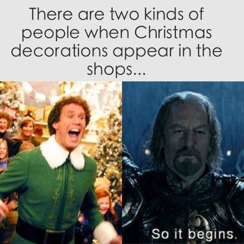 two kinds of people christmas decorations